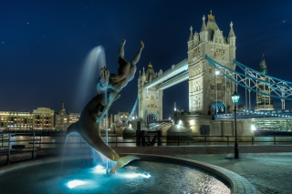 Tower Bridge in London Background for Android, iPhone and iPad