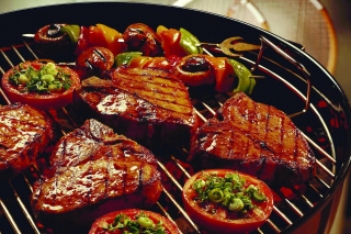 Barbecue and Grilling Meats sfondi gratuiti per 1080x960