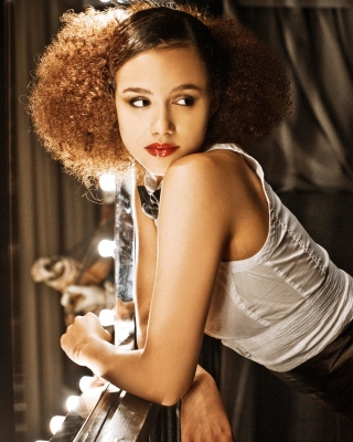 Nathalie Emmanuel Background for Nokia Asha 306