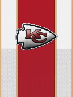 Screenshot №1 pro téma Kansas City Chiefs NFL 240x320