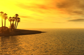 Beach Sunset sfondi gratuiti per cellulari Android, iPhone, iPad e desktop