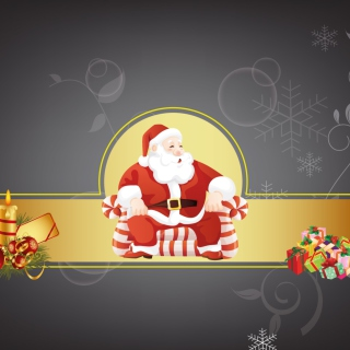 Free Santa Claus Picture for iPad Air