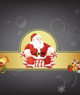 Santa Claus Background for Nokia Asha 309