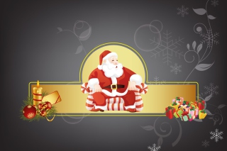 Santa Claus Picture for Samsung Galaxy Tab 4G LTE
