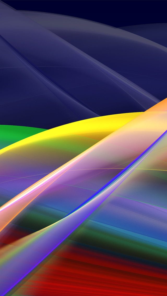 Screenshot №1 pro téma Abstract Stripes 640x1136