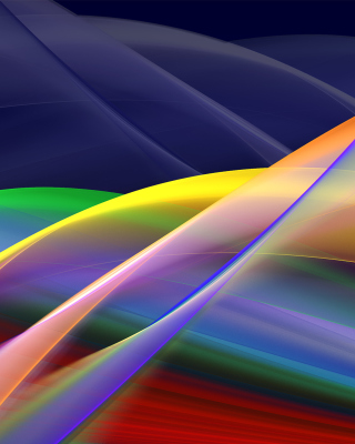 Free Abstract Stripes Picture for Nokia Asha 308