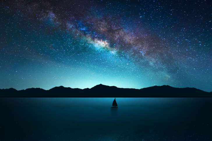 Night Sky with Stars wallpaper