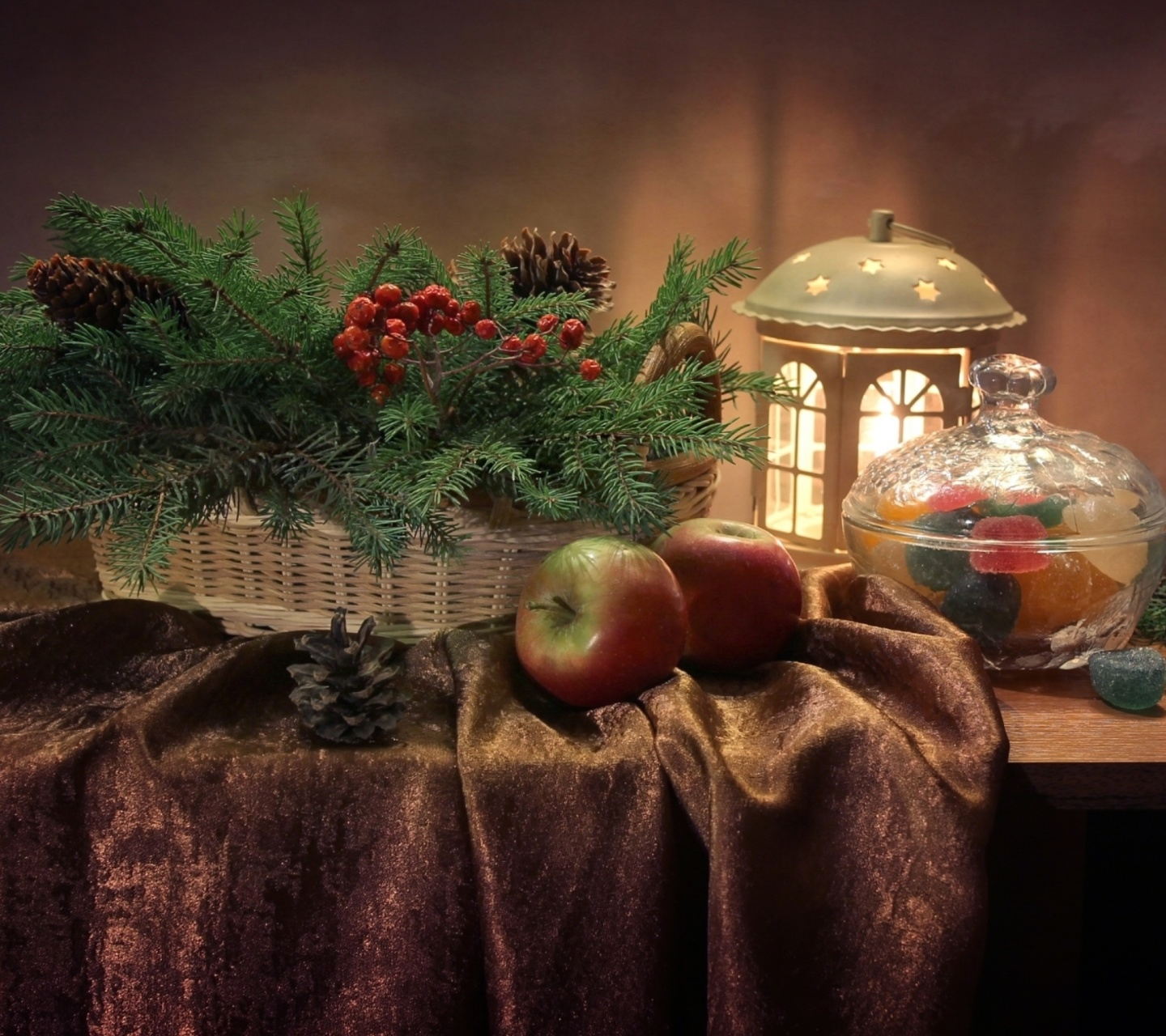 Screenshot №1 pro téma Winter Still Life 1440x1280