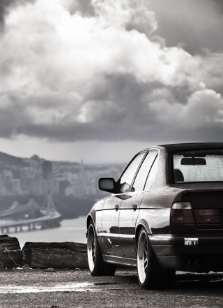Bmw E34 Background for iPhone 3G