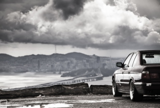 Bmw E34 Wallpaper for 320x240
