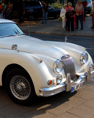 Jaguar XK 140 Wallpaper for HTC Titan