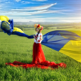 Free Ukrainian style Picture for iPad 3