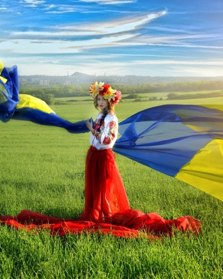 Ukrainian style Background for Nokia C-5 5MP