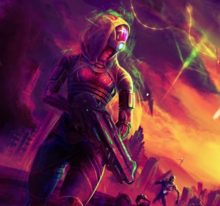 Mass Effect Picture for iPad 3