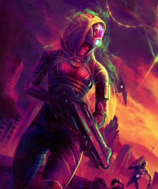 Mass Effect Wallpaper for Nokia Asha 306