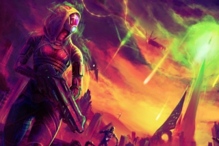 Free Mass Effect Picture for Nokia Asha 302