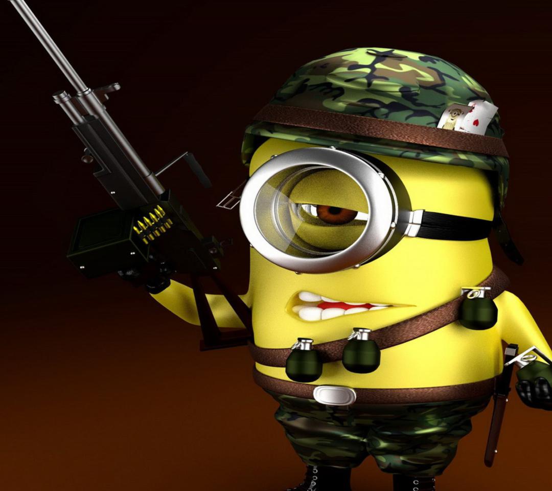 Minion Soldier para Motorola RAZR XT910