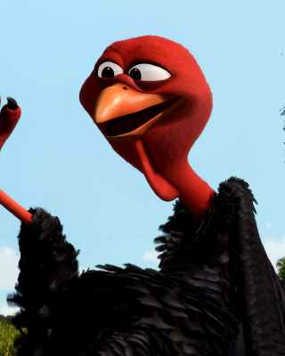 Reggie Turkey in Free Birds - Fondos de pantalla gratis para iPhone 6 Plus