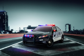 Ford Police Interceptor 2016 Background for Sony Xperia C3