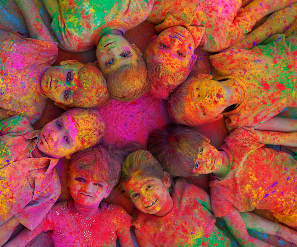 Screenshot №1 pro téma Indian Holi Festival 960x800