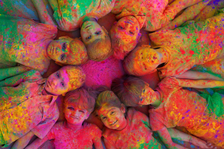 Indian Holi Festival Wallpaper for Android, iPhone and iPad