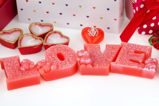 Valentines Day Candles Scents Background for Android, iPhone and iPad