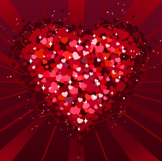 Valentine Heart Picture for iPad mini