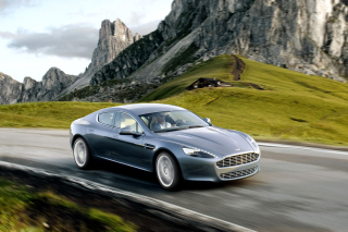 Aston Martin Rapide Background for Android, iPhone and iPad