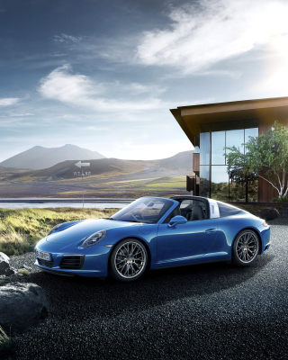 Porsche 911 Targa 4 GTS Picture for Nokia C1-01