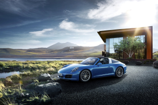 Porsche 911 Targa 4 GTS Background for Android, iPhone and iPad