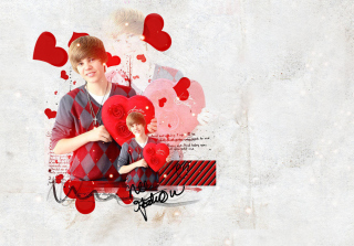 Justin Bieber Picture for Nokia XL