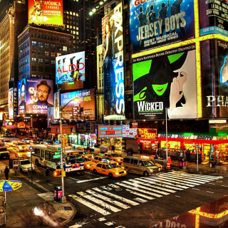 Broadway sfondi gratuiti per iPad Air