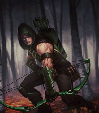 Green Arrow Picture for 240x320