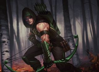 Kostenloses Green Arrow Wallpaper für Android, iPhone und iPad