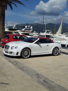 Screenshot №1 pro téma Continental GT Speed Convertible - Bentley 240x320
