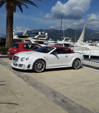 Free Continental GT Speed Convertible - Bentley Picture for iPhone 6 Plus