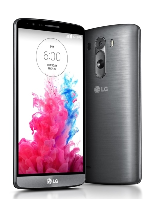 LG G3 Black Titanium Background for 480x800