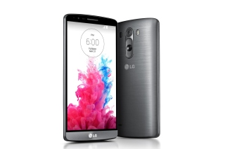 LG G3 Black Titanium Wallpaper for Android, iPhone and iPad