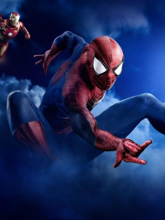 Das Marvel Super Heroes Wallpaper 240x320