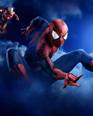 Marvel Super Heroes Background for iPhone 3G
