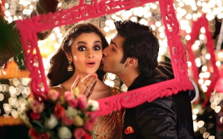 Alia Bhatt Varun Dhawan Humpty Sharma Ki Dulhania Picture for Android, iPhone and iPad