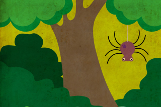 Cute Spider sfondi gratuiti per cellulari Android, iPhone, iPad e desktop