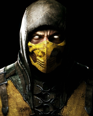 Free Scorpion In Mortal Kombat X Picture for 240x400