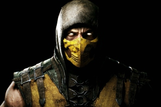 Kostenloses Scorpion In Mortal Kombat X Wallpaper für Android, iPhone und iPad