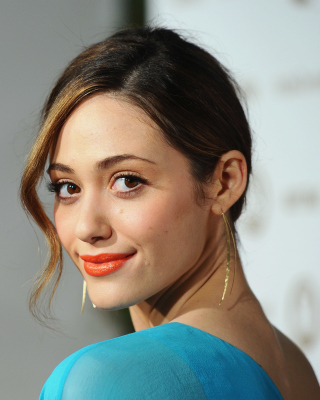 Emmy Rossum Cute Girl Picture for Samsung SGH-T528G