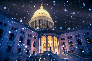 Madison, Wisconsin State Capitol sfondi gratuiti per cellulari Android, iPhone, iPad e desktop