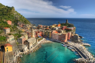 Cinque Terre Italy Background for 480x320