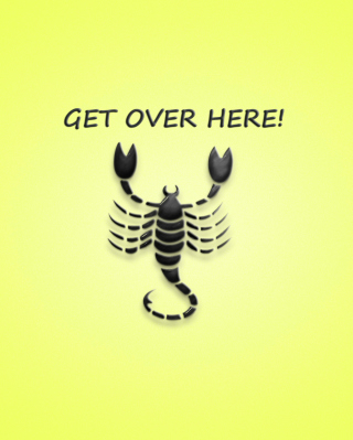 Scorpio Sign Background for Nokia Asha 310