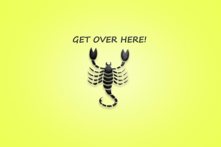 Free Scorpio Sign Picture for 220x176