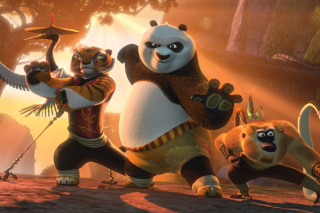 Kung Fu Panda sfondi gratuiti per cellulari Android, iPhone, iPad e desktop